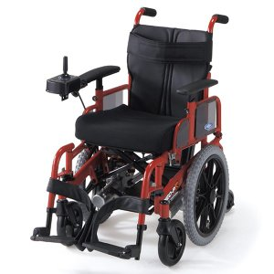 電動車椅子 日進医療器 日進医療 NEO-PR 車いす 車イス 介護用品 介護 介助用 メーカー直送 メーカー保証1年付 送料無料