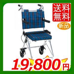 車椅子 軽量 折りたたみ 室内 室外 マキテック  カルティ NP-200NC 介護 介助用|yua-shop