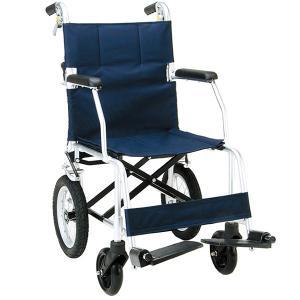 車椅子 軽量 折りたたみ 室内 室外 マキテック (マキライフテック) FINE ファイン NR-100 介助用|yua-shop