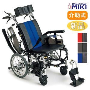 車椅子 ミキ MiKi ティルト&リクライニング TRシリーズ TRC-2 介助用|yua-shop