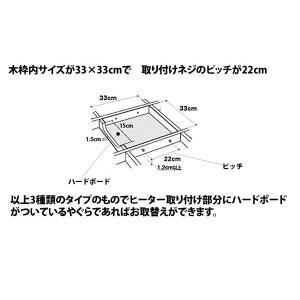 送料無料 こたつヒーターユニット メトロ電気工...の詳細画像4