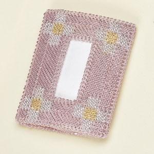 ポケットティッシュケース 「#4467(カラー・ピンク)」タカギ繊維パナミ手作りキット (メール便可/お取り寄せ)|yucasiho