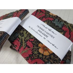 moda USAコットン プレカットクロス モリス・アースリー・パラダイス by Barbara Brackman (メール便可/他店舗同一在庫限り)|yucasiho