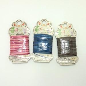 「Amiet」編み糸のあみいと 20m巻 マーブルタイプ TOHO  (メール便可/取り寄せ商品)|yucasiho