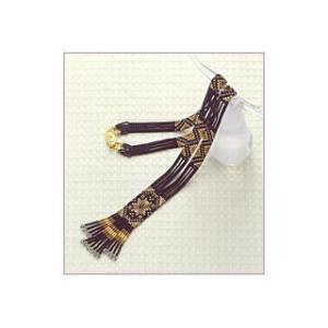 BK-20 ネックレス step2(中級) TOHOビーズ織りキットシリーズ  (お取り寄せ) |yucasiho