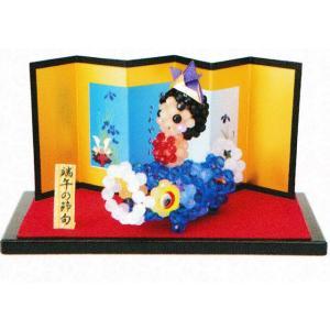 端午の節句ビーズキット クリスタル 金太郎 CR-69 パナミ (メール便可/お取り寄せ)|yucasiho