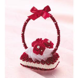 デコソープ「DS-1(赤)」 香る花かご!せっけん手芸  パナミ手作りキット (メール便可/お取り寄せ)|yucasiho
