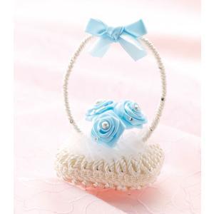 デコソープ「DS-4(白ブルー)」 香る花かご!せっけん手芸  パナミ手作りキット (メール便可/お取り寄せ)|yucasiho