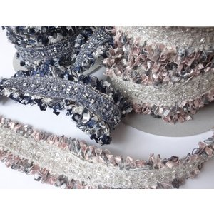 ビーズ刺繍の可愛い装飾ブレード GR1552 (1m単位/お取り寄せ)|yucasiho