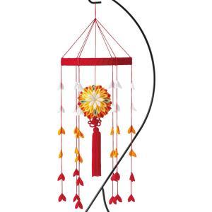大輪の和かざり(黄 LH-121) 京ちりめんつまみ細工手作りキット パナミ (不可メール便/お取り寄せ)|yucasiho
