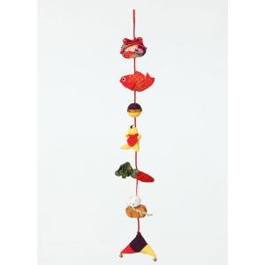 京ちりめん下げ飾り [LH-308 (金運)] パナミ手作りキット  (メール便可/お取り寄せ)|yucasiho