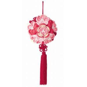 花てまり「LH-377 ピンク」 つまみ細工手作りキット パナミ (不可メール便/取り寄せ商品)|yucasiho