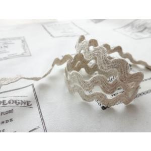 MOKUBA 麻混山道テープ 総巾約11mm No.0366K (1m単位/アウトレット)|yucasiho