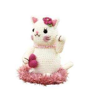 ネコのあみぐるみキット MK-79 良縁まねき猫 オリムパス (不可メール便/お取り寄せ)|yucasiho
