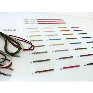 No.801(径約2.5mm) 木馬シルクツイストコード (1m単位/お取り寄せ)|yucasiho