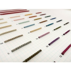 No.804(径約3mm) 木馬シルクコード組紐 (1m単位/お取り寄せ)|yucasiho