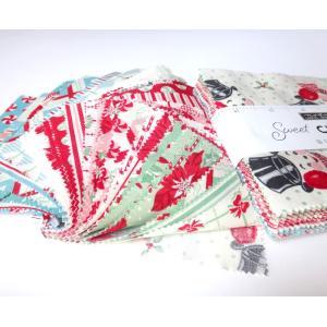 moda「Sweet CHRISTMAS@URBANCHIKS 31150pp」USAコットンカットクロス(他店舗同一在庫限り)|yucasiho