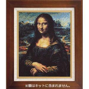 No.7027 「モナ・リザ」 ダ・ヴィンチ作   オリムパスクロスステッチキット  (お取り寄せ)|yucasiho