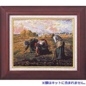 No.7028 「落穂拾い」ミレー作   オリムパスクロスステッチキット  (お取り寄せ)|yucasiho