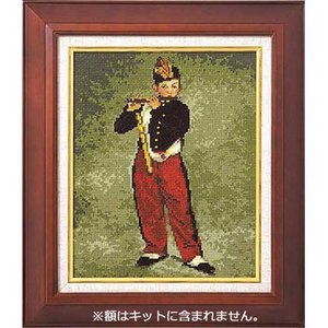 No.7029 笛を吹く少年 マネ作   オリムパスクロスステッチキット  (お取り寄せ)|yucasiho