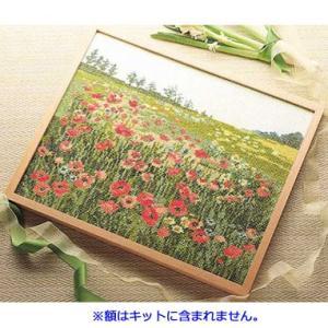 No.7111 ポピーの咲く頃 オリムパスクロスステッチキット 上級向き (お取り寄せ)|yucasiho