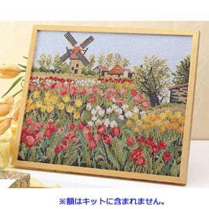 No.7124 オランダの休日 オリムパスクロスステッチキット 上級向き (お取り寄せ) |yucasiho