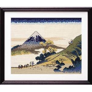 No.7138 甲州犬目峠  オリムパスクロスステッチキット  (お取り寄せ)|yucasiho
