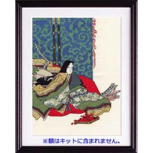 No.7186 「秋好中宮図」尾形光琳作 オリムパスクロスステッチキット  (お取り寄せ)|yucasiho