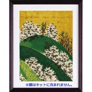 No.7187 「吉野山図屏風より」渡辺始興作 オリムパスクロスステッチキット  (お取り寄せ)|yucasiho