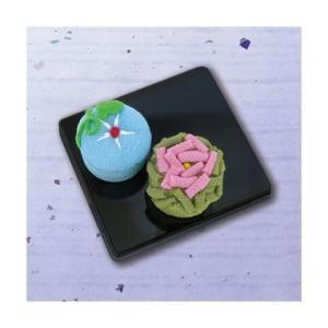 「PA-692 朝顔とバラ」 和菓子マグネット エコクラフト手づくりキット-オリムパス (メール便可/お取り寄せ)|yucasiho
