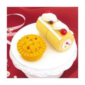Sweetsマグネット PA-723 フルーツロールとアップルパイ オリムパスエコクラフトキット 初級向(取り寄せ商品)|yucasiho