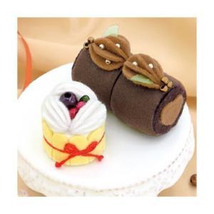Sweetsマグネット PA-724 チョコロールとベリーのシャルロット オリムパスエコクラフトキット初級向(取り寄せ商品)|yucasiho
