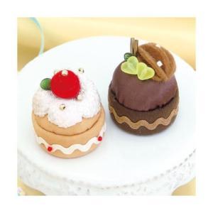 Sweetsマグネット PA-726 いちごのケーキとチョコケーキ オリムパスエコクラフトキット 初級向(取り寄せ商品)|yucasiho