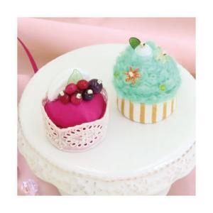 Sweetsマグネット PA-727 ベリーのムースケーキとミントのカップケーキ オリムパスエコクラフトキット 初級向(取り寄せ商品) yucasiho