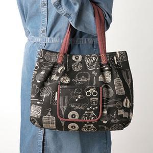 パッチワークキット「PA-761 ポケット付きふんわりバッグ」 オリムパス手作りキット (不可メール便/お取り寄せ) yucasiho