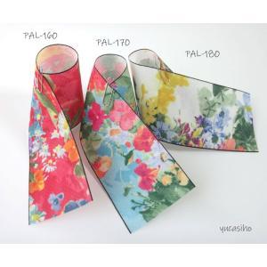 手芸用の畳へり「キレイな花柄」5m巻 パレット転写プリント (不可メール便/お取り寄せ)|yucasiho