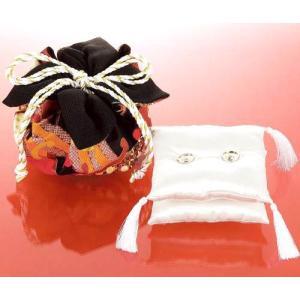 モダンリングピロー [RP-12 (黒)] パナミ手作りキット(メール便可/お取り寄せ)|yucasiho