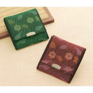 たたみテープ作る「小銭入れ(赤&緑)T-20」タカギ繊維パナミ手づくりキット (メール便可/お取り寄せ)|yucasiho