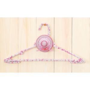 エコハットハンガー [TC-94(ピンク)] パナミ手作りキット (メール便可/お取り寄せ)|yucasiho