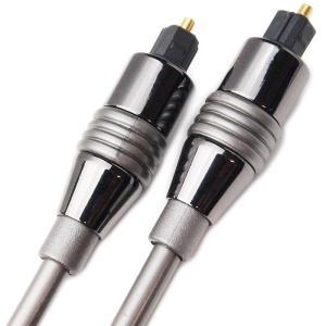 Amulech 長さ1.0m(100cm) ハイレゾ音源192kHz/24bit対応 角形−角形 光デジタルケーブル AL-SOP192SQ10|yudios