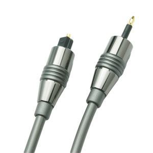 YD-192 MSQ10  角形−丸型(3.5mmミニプラグ)光デジタルケーブル  長さ1.0m(100cm)ハイレゾ音源192kHz/24bit対応 |yudios