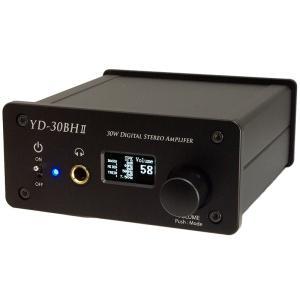 サブウーファーモード及び3バンド・イコライザ機能付き最大出力30W+30W(4Ω)デジタルアンプ|yudios