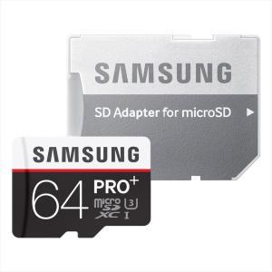 高耐久 高性能 Samsung microSDカード64GB PRO+ Class10 UHS-I ...