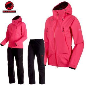 MAMMUT(マムート) CLIMATE Rain-Suit AF Women クライメイトレインス...