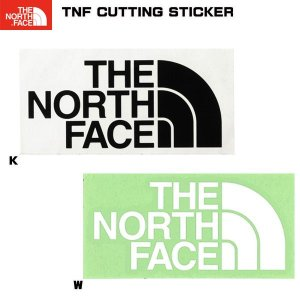 THE NORTH FACE(ザ ノースフェイス) TNF CUTTING STICKER   カッティングステッカー yugakujin