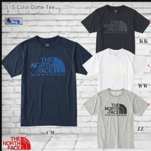 値下げ THE NORTH FACE(ザ ノースフェイス) MEN'S S/S COLOR DOME TEE   男性用ショートスリーブドームTシャツ   (TNF_2017SS) yugakujin