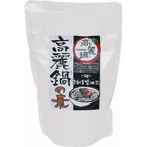 高麗鍋の素|yugetashoyu