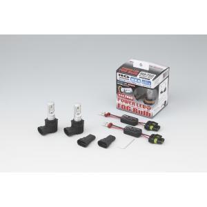 レーシングギア RG POWER LEDフォグバルブ コンパクトスター ホワイト 6000K H8/H11/H16用|yuhtec