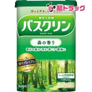 バスクリン森の香り600g