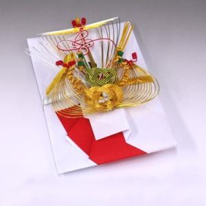結納金袋(赤白)寿宝船|yuinou-com